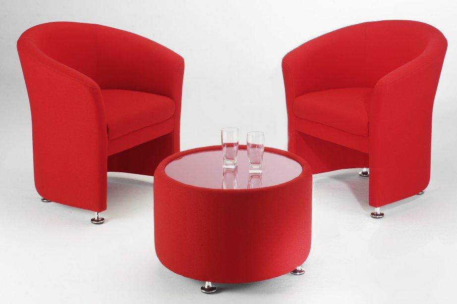 Office Bucket Chair. Fabric Tub Chairs - Cobalt Blue Office Bucket ...